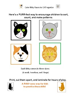 Cute Kitty Faces to CATegorize