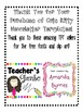 Cute Kitty Newsletter Templates