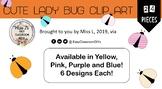 Cute Lady Bug Clip Art