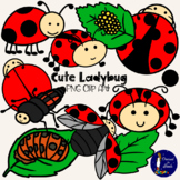 Cute Ladybug Clip Art