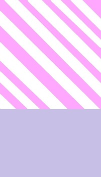 Cute Lavender Stripes Cover