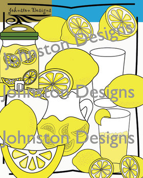 Cute Lemonade Clipart