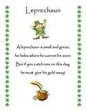 Cute Leprechaun Poem!