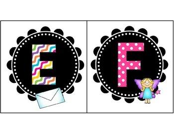 Cute Letter Card Set