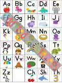 Cute Letter Sound Linking Alphabet Chart