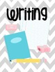 Chevron Binder Covers for Elementary Teachers