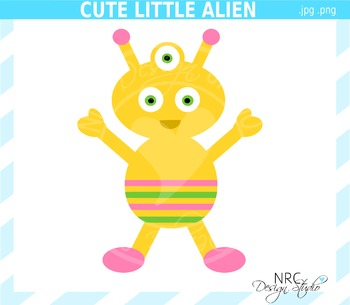 Alien clipart commercial use