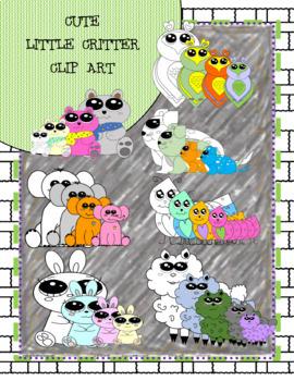Cute Little Critter Clip Art