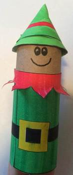 Little Elf Toilet Paper Roll Template