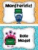 Cute Little Monsters Behavior Clip Chart
