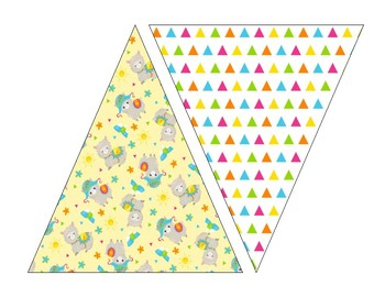cute llama alpaca welcome banner and printable banners tpt
