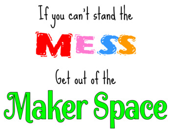 Cute Makerspace Poster