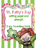 St. Patrick's Day Writing Paper and Prompts