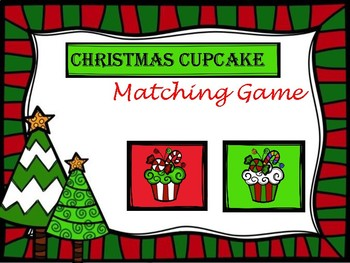 Cute Matching Christmas Holiday Game!