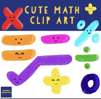 Cute Math Clip Art