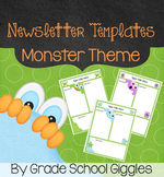 Newsletter Template - Editable Monster Theme