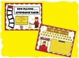 Cute Movie Style Attendance Taker Promethean Flipchart Lesson