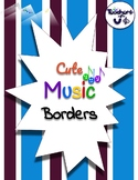 Cute Music Borders Bundle