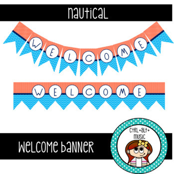 Welcome Banner [Nautical]
