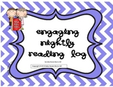 Cute Nightly Reading Log