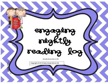 Cute Nightly Reading Log