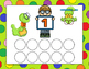 Cute Number Kids Counting Cap Cards
