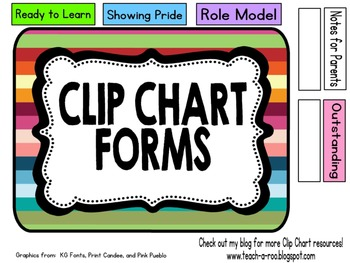 Cute Organizing Box for Clip Chart Certificates