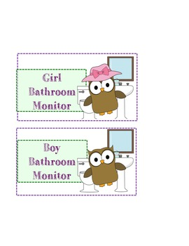 Cute Owl Class Jobs
