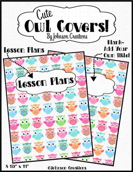 Cute Owl Covers