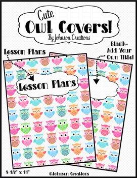 Cute Owl Covers