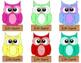 Cute Owl Hallway Name Plates - Fully Editable!