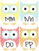 Cute Owl Word Wall