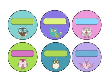 Cute Owl and Bird Classroom Theme