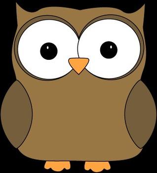 Cute Owl reward / sticker chart