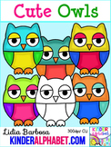 Cute Owls { Clip Art for Teachers }