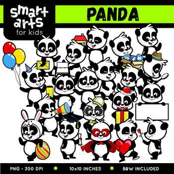 Cute Panda Clip Art