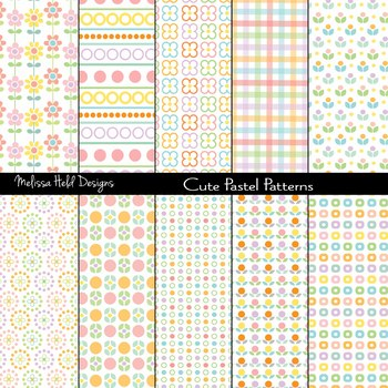 Cute Pastel Patterns
