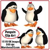 Cute Penguin Clip Art - 15 Penguin Clipart Images