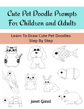 Cute Pet Doodle Prompts For Children and Adults