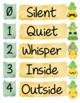 Cute Pineapple Themed - Voice Level Chart - EDITABLE