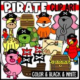 Pirate Animal Clip Art