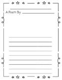 Cute Poetry Paper