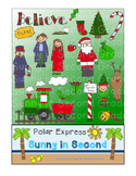 Polar Express Clip Art for Personal and Commercial Use