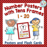 Numbers 1-20 Posters with Tens Frames and Reference Cards