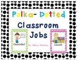 Cute Polka Dot Classroom Jobs