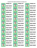 Cute Polka Dot Classroom Library Labels - Part 2