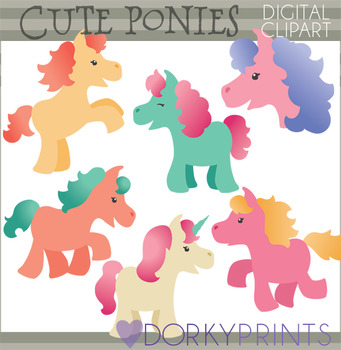Cute Pony Clipart