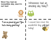 Cute Positive Animal Notes