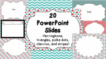 Powerpoint Templates By The Primary Stop Teachers Pay Teachers