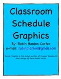 Cute Primary Schedule